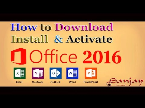 How to Download Microsoft Office 2016 Full Version for free