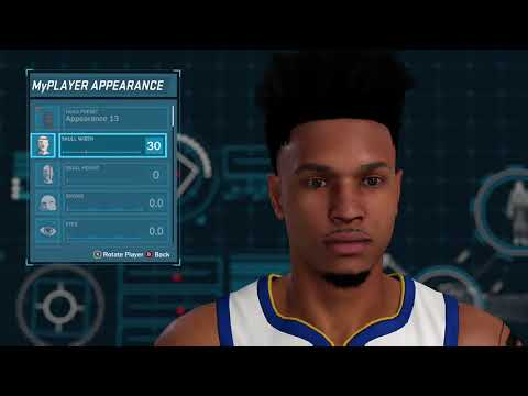 BEST FACE CREATION ON NBA 2K18 LIGHT SKIN SEXY MY PLAYER NO HOMO
