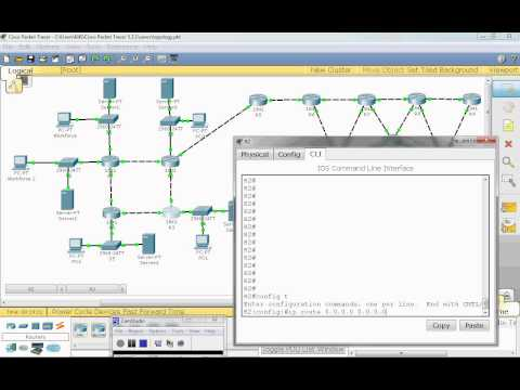 Configuring and Redistributing a Default Route in EIGRP [Cisco Training] by Nicholas Lee Fagan