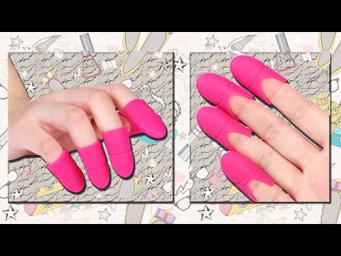 Silicagel cap for removal of Gel Polish  How to Remove Gel Nails at Home  HAUL Aliexpress
