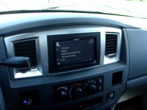 2008 Dodge Ram 1500 Quad Cab Stereo Install Video 2 (Pioneer AVIC-Z110BT Install)