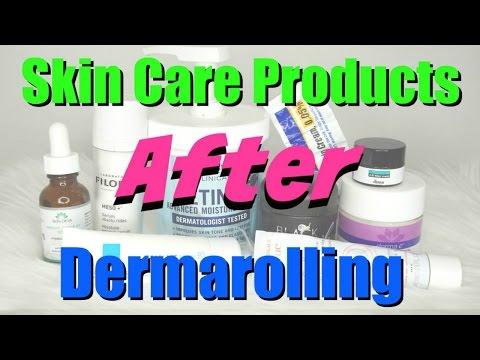 Skin Care Products I Use AFTER Dermarolling! Build Collagen!