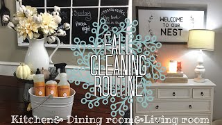 WATCH ME CLEAN// FALL CLEANING ROUTINE
