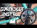 Sprocket install - BMX FOR BEGINNERS