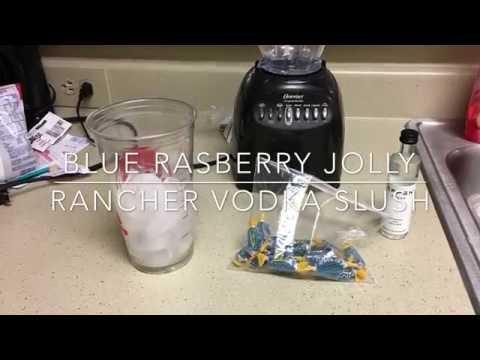 Blue Rasberry Jolly Rancher Slush