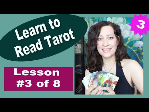 Learn to Read Tarot Cards (LESSON 3/8) CARD PLACEMENTS