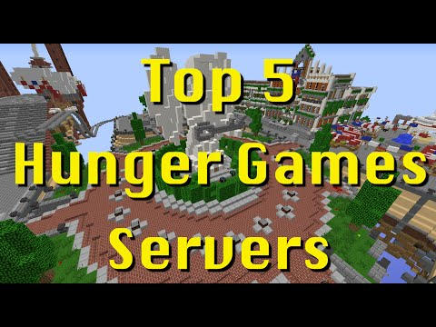 Top 5 Minecraft Hunger Games/Survival Games Servers 2015 1.8