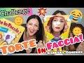 """💖CHALLENGE #2: Torte in Faccia """"PIE FACE"""" Challenge♡💖    Barbara Dominici💖"""