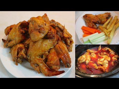 Crockpot BBQ Buffalo Chicken Wings: How To Make Barbecue Buffalo Wings In A Slow Cooker