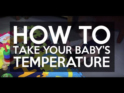 How to Take Your Baby's Temperature