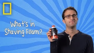 Shaving Foam | Ingredients With George Zaidan (Episode 3)