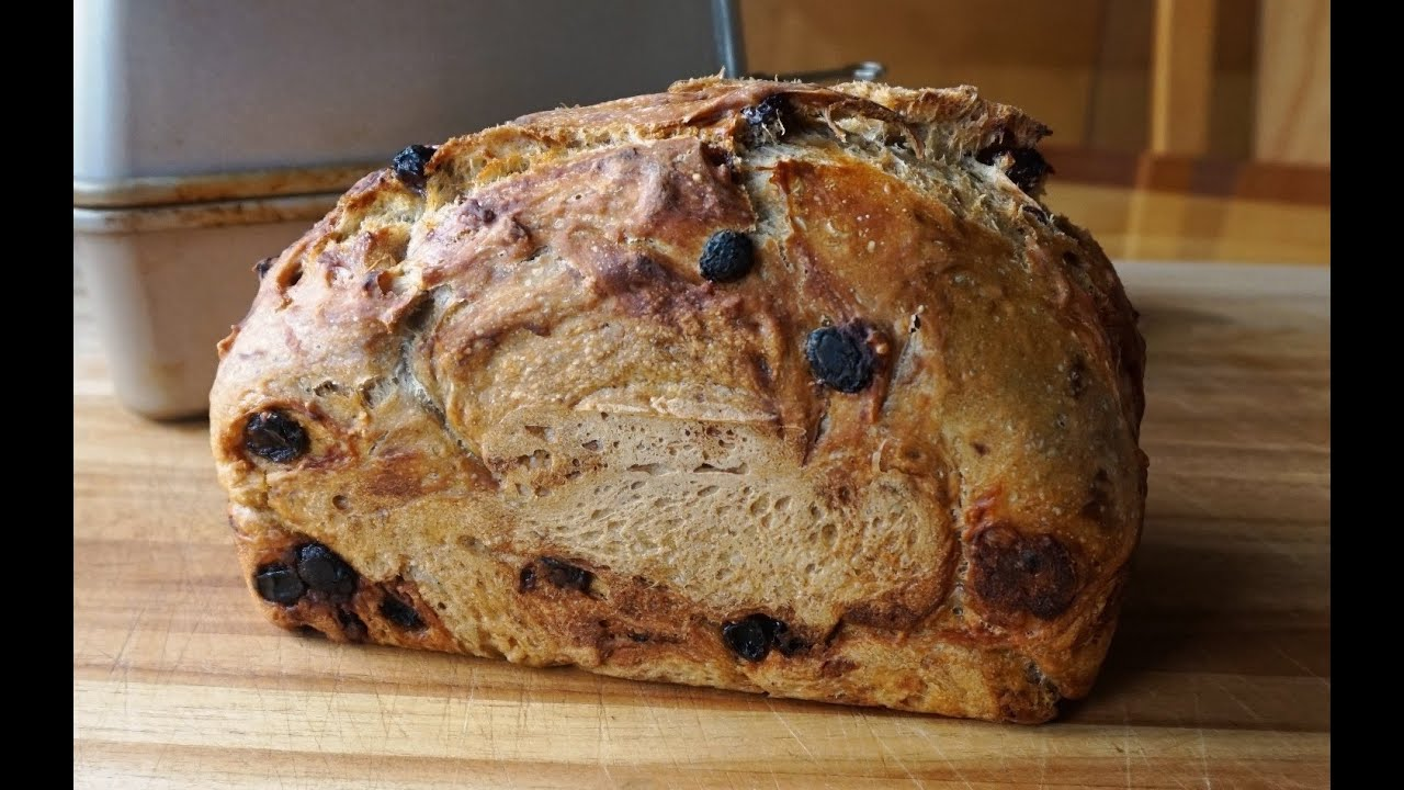 No-Knead Cinnamon Raisin Bread (updated) super easy… no machines