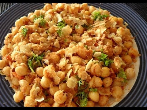 Chana Chaat Recipe - How To Make Chana Chaat - Easy Food Recipes