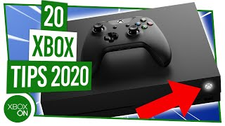 20 AMAZING TIPS for your Xbox One in 2020