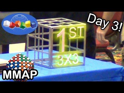 2013 Rubik's Cube World Championship FINALS (Day 3!)