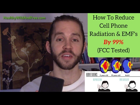How To Reduce Cell Phone Radiation/EMF's By 99% (Backed By Science)