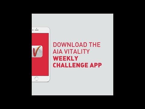 AIA Vitality Weekly Challenge App