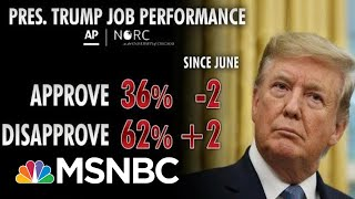 Polls Show President Donald Trump Struggling Among Key Groups | Morning Joe | MSNBC