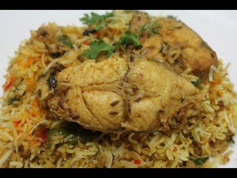 FISH BIRYANI {how to make fish biryani easy way}