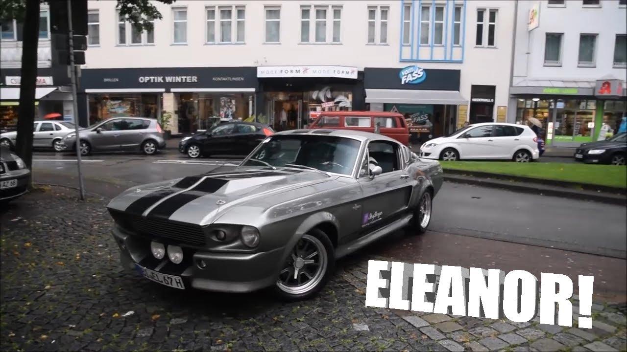 Shelby GT500 Eleanor Start up !Loud Sound! HD