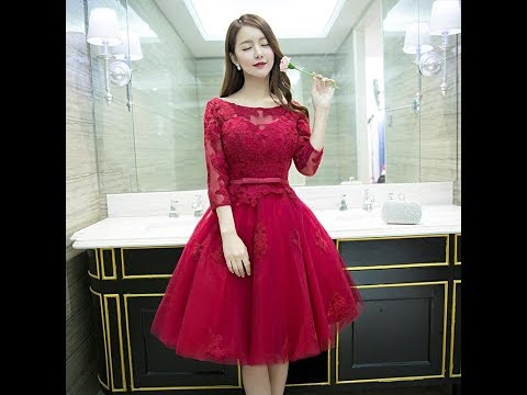 Long Sleeve Designer Cocktail Dresses Fashion Trend  2018|Top Styles and Looks To Wear