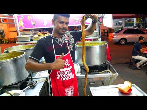 BULL'S PENIS SOUP in MALAYSIA - Local Food Malaysia w/ Luke Martin | Food and Travel Channel |
