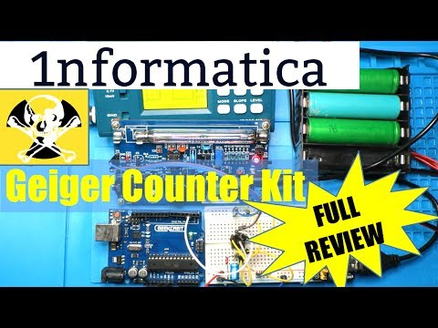Geiger Counter Kit Nuclear Radiation Detector from Banggood - Electronic Project