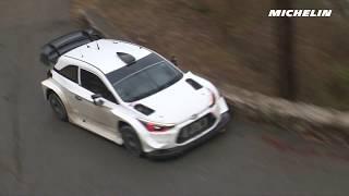 Neuville testing - 2018 WRC Rallye Monte-Carlo - Michelin Motorsport