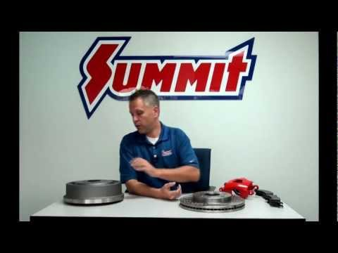 Drum Brakes vs Disc Brakes - Summit Racing Quick Flicks