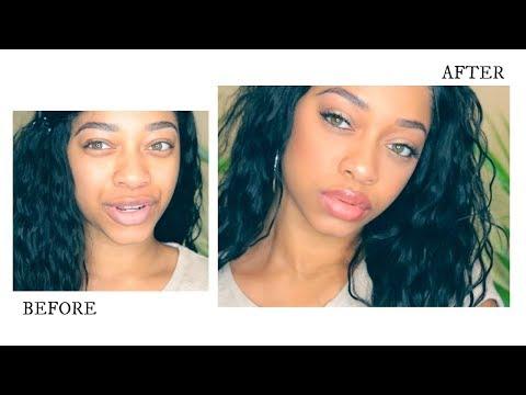 Full face using Rihanna's Fenty Beauty! I'M SHOOK!!!!!