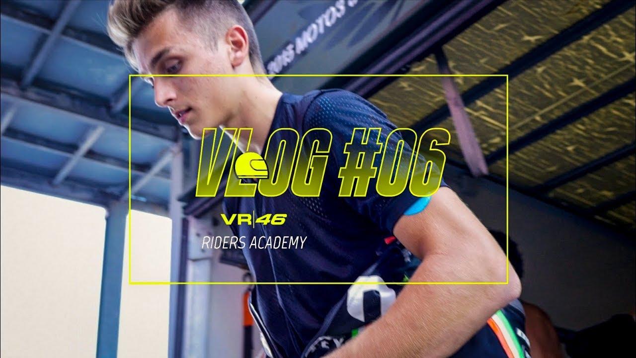 VLOG VR46 Riders Academy #06 - Luca Marini