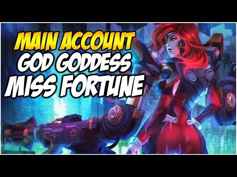 GUN GODDESS MISS FORTUNE IS HERE (Ultimate Skin) - Climb to Master S8   League of Legends