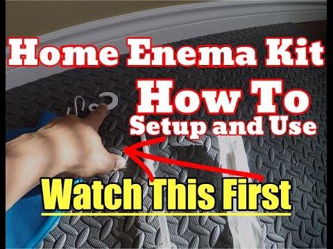[NEW] How To Use a Home Enema Kit Tutorial - Easy Setup, Do an Enema Properly