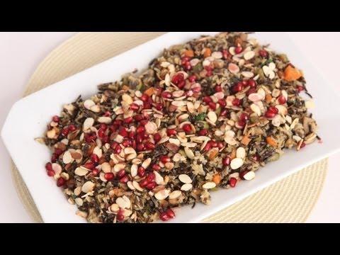Wild Rice Pilaf Recipe - Laura Vitale - Laura in the Kitchen Episode 499
