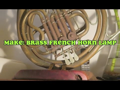 Make a Rustic French Horn Lamp: One Day Builds