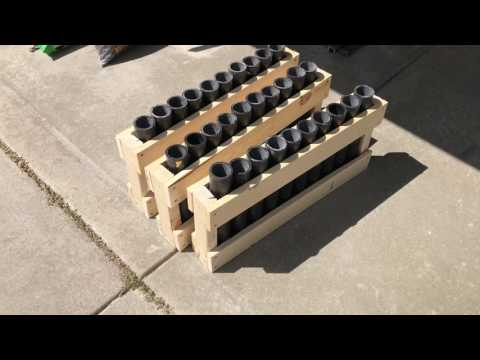 2017 Fourth of July Prep - Building Mortar Racks