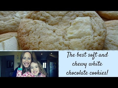 How To Make Soft and Chewy White Chocolate Cookies Recipe