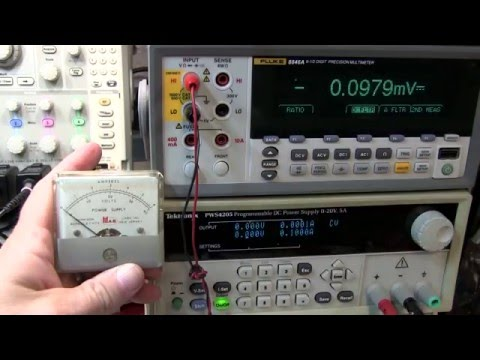 #236: Using a Current Shunt with a Panel Meter / Ammeter scale change