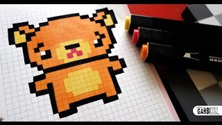 Comment Dessiner Koda En Pixel Art Frère Ours