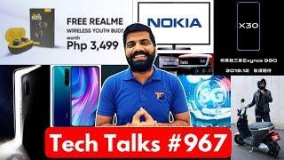 Tech Talks #967 - Realme Youth Wireless Buds, Poco F2 Launch, China 6G, vivo X30, Nokia Smart TV