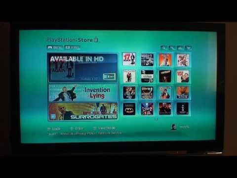 PS3 Movie Downloads