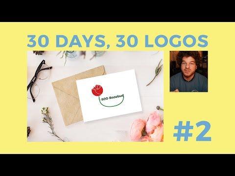 30 Days, 30 Logos #2 - 1-800-Rosebud