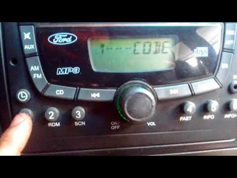 Desbloquear Radio Original Ford Cuando Pide Código Fiesta, Ecosport, Ka
