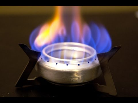 Alcohol Stove, Best Camping Stove Design