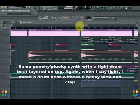 FL Studio Tutorial - How to Produce EDM like Calvin Harris or Avicii - The Structure