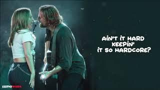 Lady Gaga & Bradley Cooper - Shallow ( Lyrics Video )