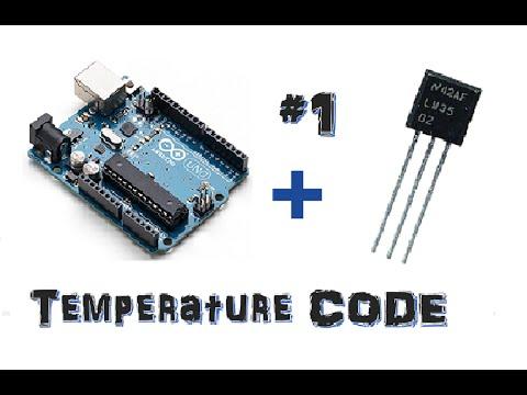 ✔ Arduino Projects #1 -- LM35 Temperature Sensor