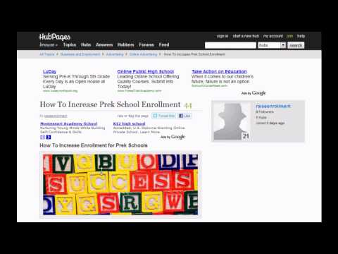How To Increase Enrollment for Prek School