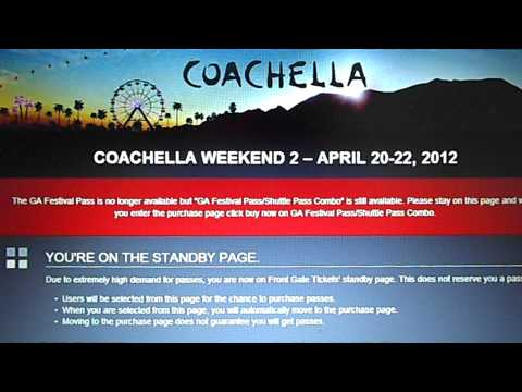 Not Buying Coachella tickets on Friday the 13th (The Experience)