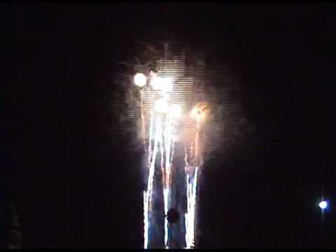 Long Beach CA Area Fireworks 2012  Lakewood Center Southern CaLifornia